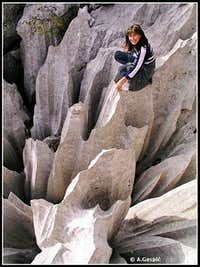 \'Terrace of Knives\' in Kamena Galerija