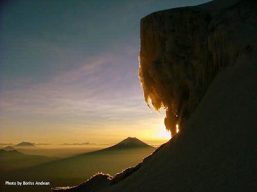 Slunicko's climb.