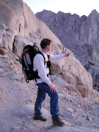 Mount Whitney Summit Hike, July 2007
