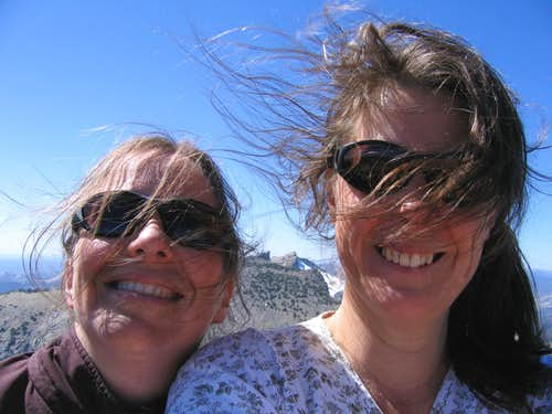 Blowing Hair Day On Pyramid Peak
