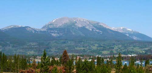 via the Buffalo Cabin and Buffalo Mountain Trails