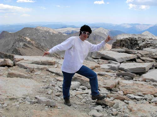 Elvis on Mount Whitney?!?!?!