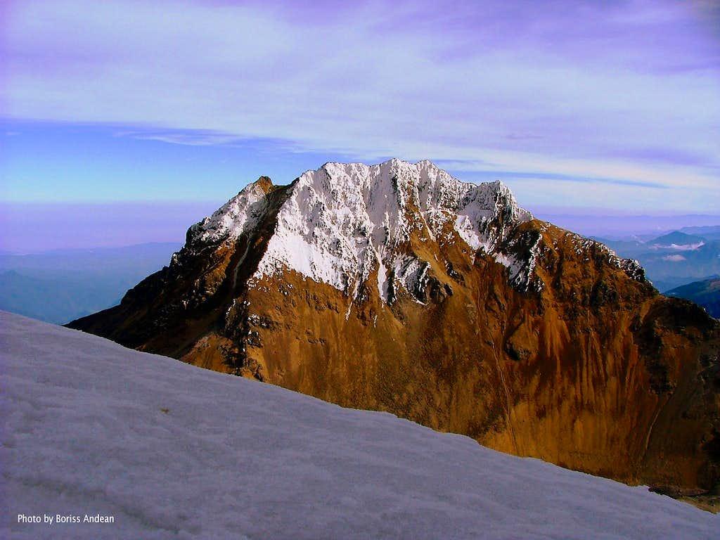 Illiniza Sur. Normal Route 2004.