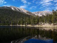 San Gorgonio from Dry Lake