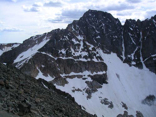 Granite Peak from 1 Mile