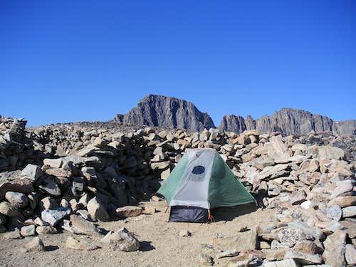 Granite Peak from 1.25 Miles