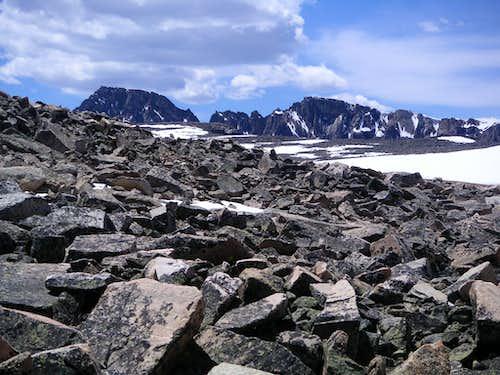 Granite Peak from 2 Miles