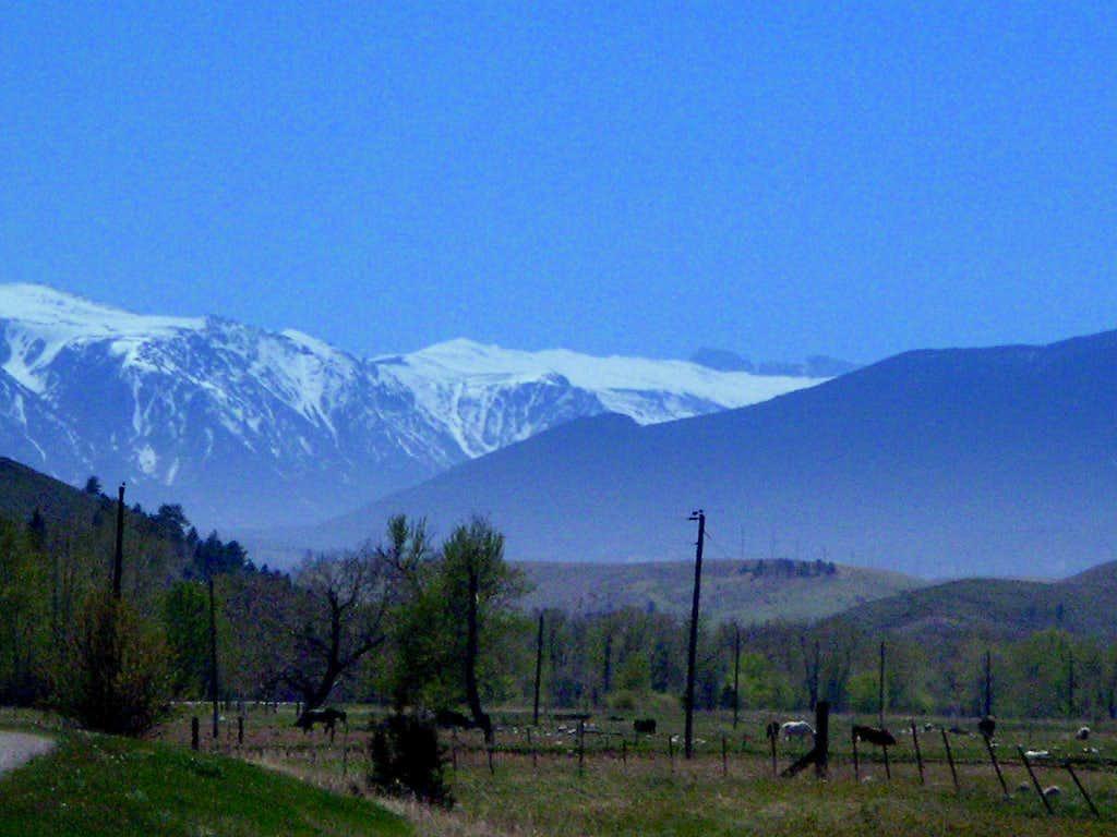 Granite Peak from 22 Miles