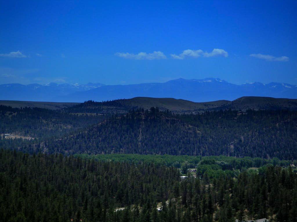 Granite Peak from 42 Miles