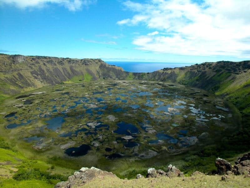 Volcan Rano Kau - Easter Island