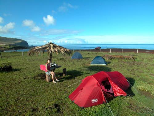 Camping Mihinoa - Easter Island