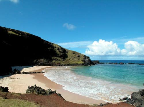 Ovahe beach - Easter Island