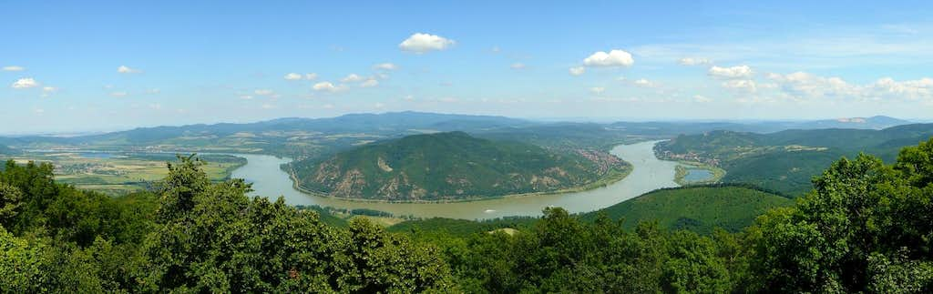 The Danube Bend in Hungary