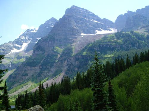 The Maroon Bells, 7-14-7