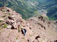 North Maroon Peak, Northeast Ridge