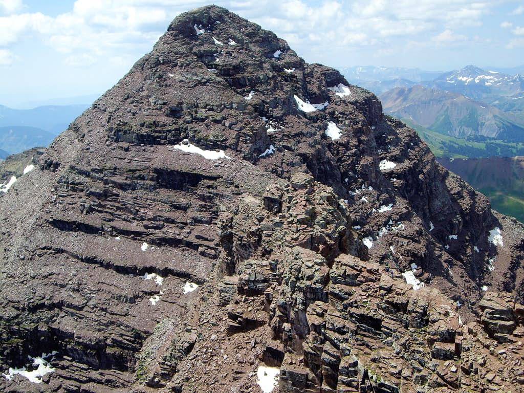 The Traverse from N.Maroons Summit
