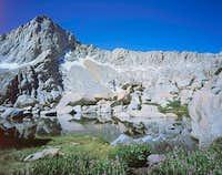Sawtooth Peak from tarn