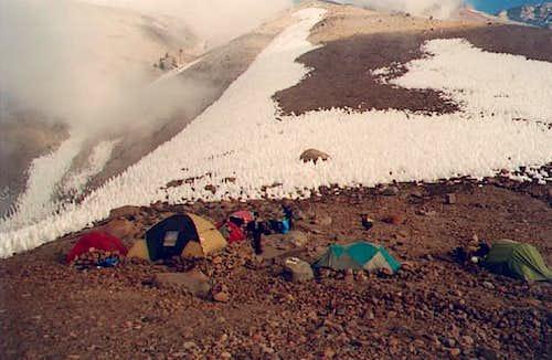 camp penitentes at 4500