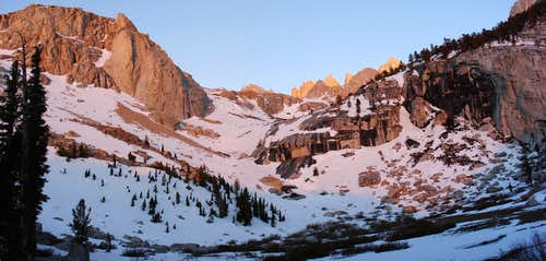 Lower Boyscout Lake Panorama