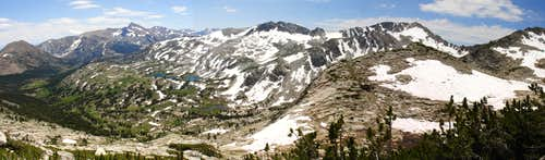 White Mountain From Conness Panorama