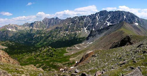 Arapahoe Pass Panorama