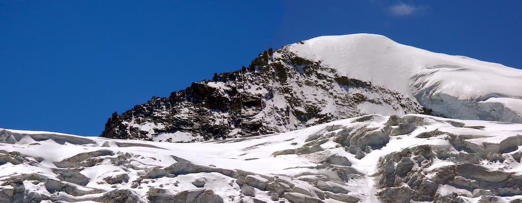 North side of cresta Gastaldi <i>3894m</i>