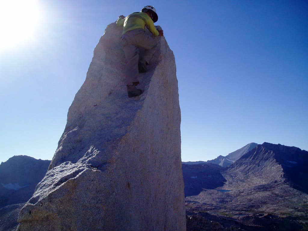The fun exposed summit block on