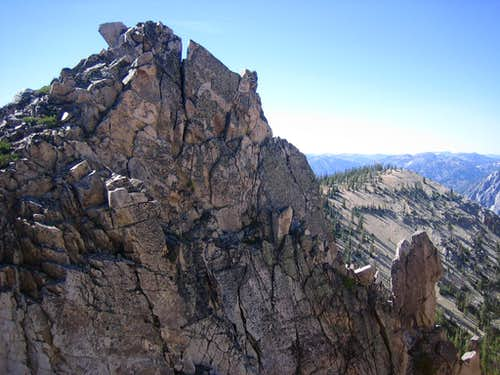 Cony peak Summit Block