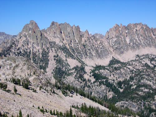 Warbonnet from Cony Peak