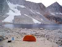camp at Royce Lakes