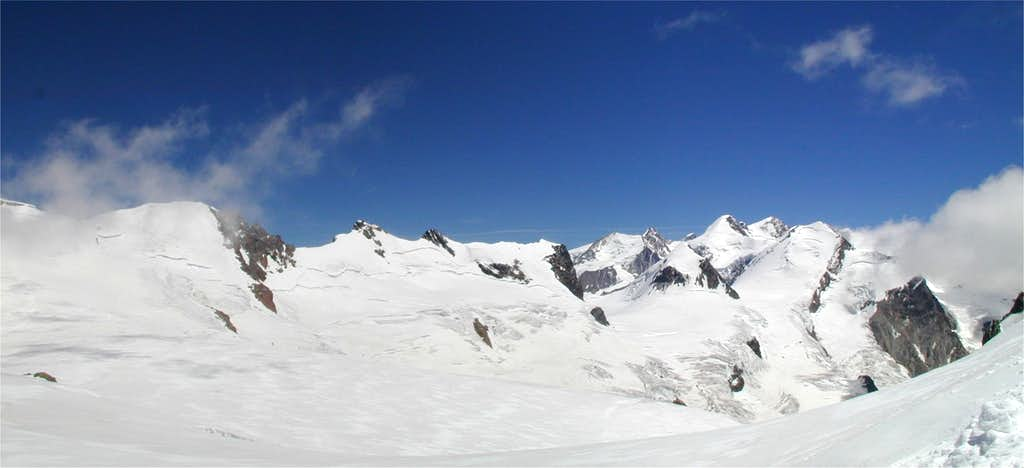 Panorama from the