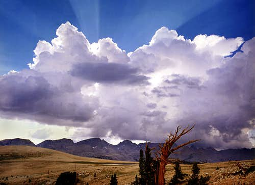 Storm Cloud over the Great Western Divide