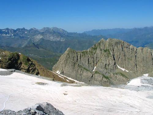 Pic des Sarradets (2739m) as...