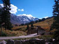 Valley leading to Grays & Torreys peaks
