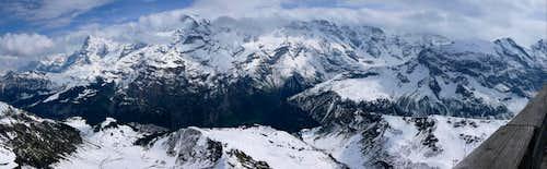 The Jungfrau Group Pano