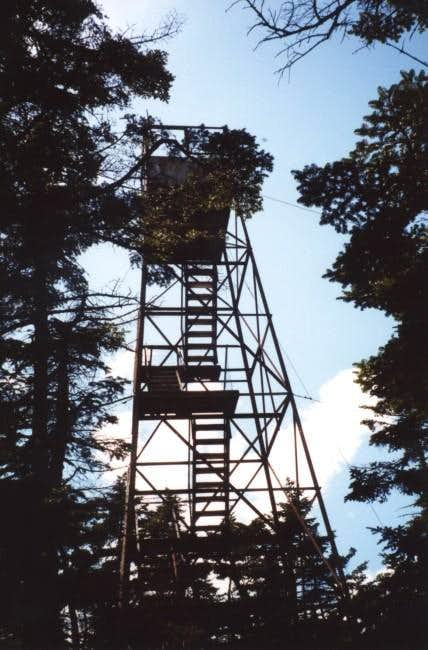 The firetower on Glastenbury....