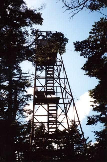 The firetower on Glastenbury....
