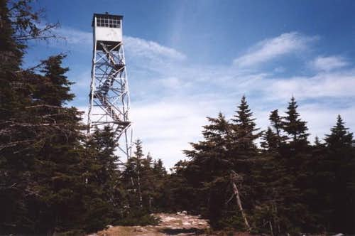 Stratton\'s summit firetower....