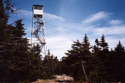 Stratton's summit firetower....