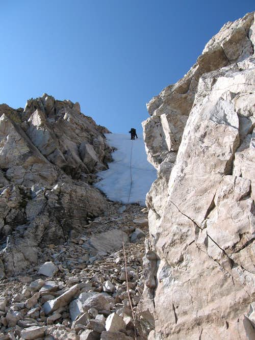 Upper Couloir Red Slate