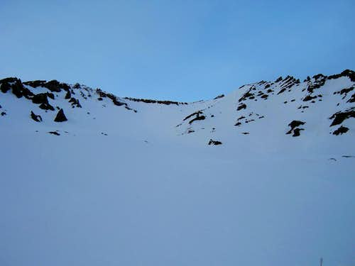 Avalanche Gulch from Lake Helen
