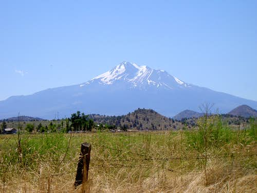 Mt Shasta North Aspect
