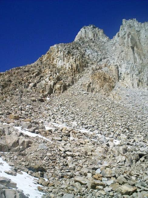Mt. McAidie from Crabtree...