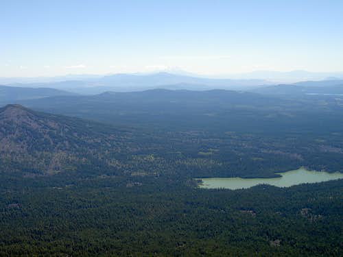 View South to Shasta