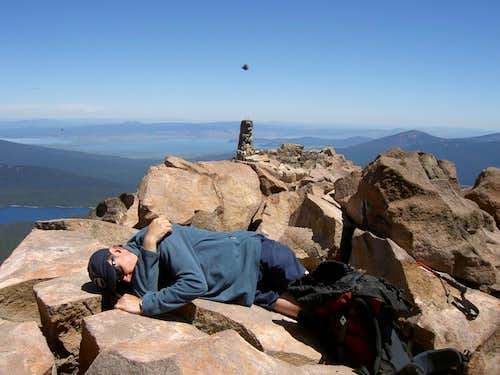 Mt McLaughlin Summit Nap