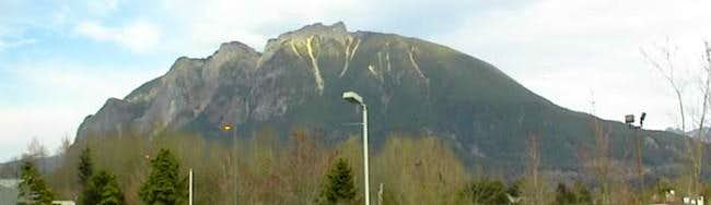 Mount Si as seen from...