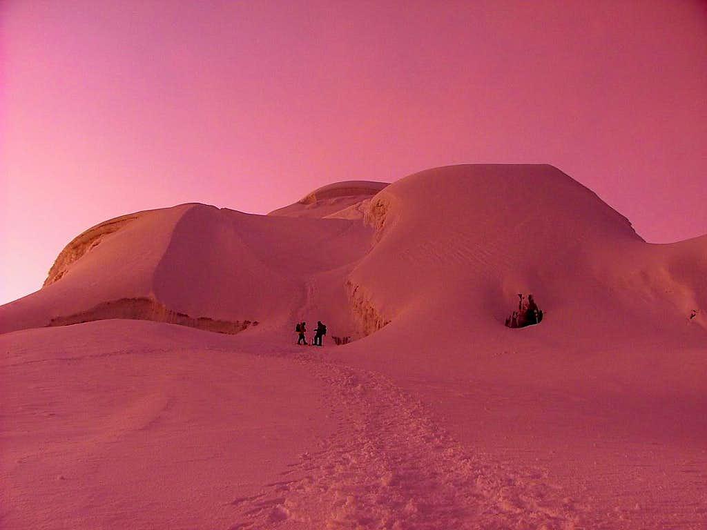 Cotopaxi, sunrise.