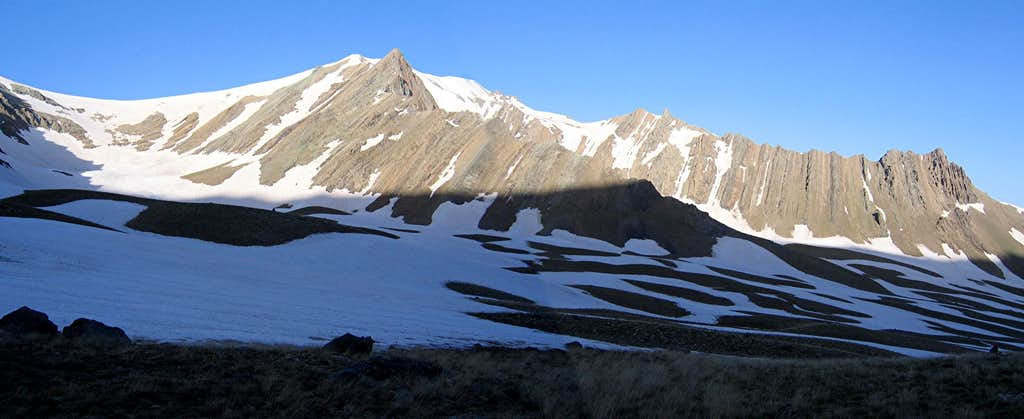 Bandalkoli & its ridgelines
