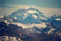 The south face of Aconcagua ,...