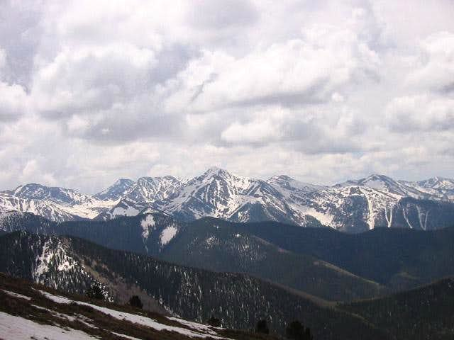 Mount Owen from Cottonwood...